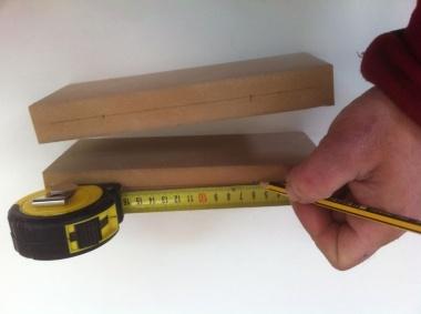 marcando en madera
